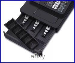 Black Casio SE-G1 Cash Register Shop Till Cafe Shop+ till rolls + Keys + Manual