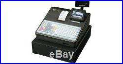 Black Sharp XE-A217B Cash Register With Till Drawer, Key and instructions WS6
