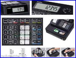 Brand New Casio SE-G1 SD-B Cash Register Shop Till EPOS 20 FREE ROLLS & Support