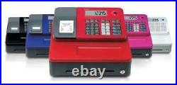 Brand New Casio SE-G1 Till Cash Register Electronic In 5 Colors FREE 20 ROLLS