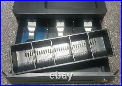 Brand New In Box Black Casio Se-g1 Cash Register Till Fast & Free Uk Delivery