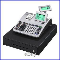 Brand New Retail Casio Cash Register/Black SE-S400MD-SR/Shop Till/Money Drawer