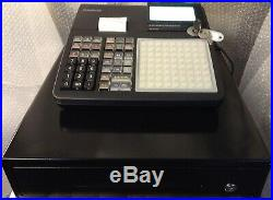 CASIO SE-C450-MD Electronic Cash Register + Wet Cover + Till Rolls And Free P&P