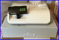 CASIO SE-S2000-1 Electronic Cash Register Complete With Till Rolls And Free P&P