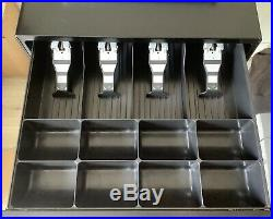 CASIO SE-S400-1 Electronic Cash Register Complete With Till Rolls And Free P&P