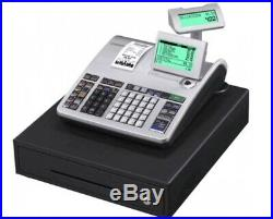 CASIO SE-S400-MD-SR Electronic Cash Register With Till Rolls And Free P&P