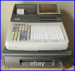 CASIO TE-8000F Electronic Cash Register Complete With Till Rolls And Free P&P