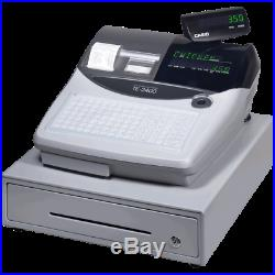 CASIO TE2400 Cash Register Till Preset Products and Prices Bargain Price