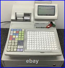 CASIO TK-3200 Electronic Cash Register With Till Rolls And Free P&P