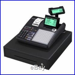 Cash Register Black Till Shop Casio Thermal Printer Pub New