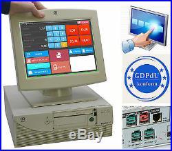 Cash Register System till Pos Pc Ncr Realpos 80c 12 30cm 800x600 Screen 1