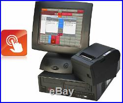 Cash Register System till Shop Checkout Bistro Touch Monitor Receipt Printer