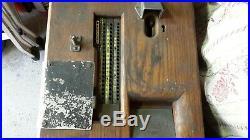 Cash Register Vintage Till classic wooden. Gledhill. Sliding reckoner. Untouched