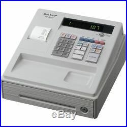 Cash Till Register By Sharp Xe-a107wh And Box Of 20 Till Rolls