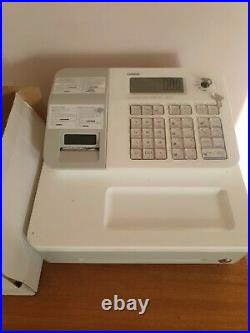 Cash register Casio SE-G1 White Shop Till with 20 Till Rolls, programmable