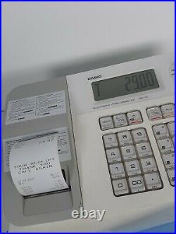 Cash register Casio SE-G1 White Shop Tilll With 10 FREE Till Roll