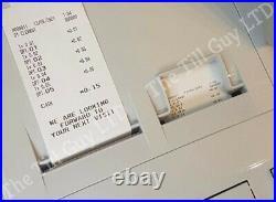 Cash register SHARP XE-A307 slight use + 10 till rolls & free UK P&P