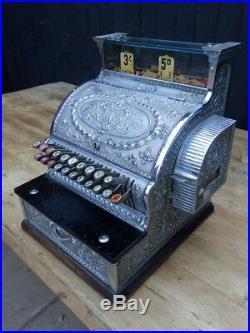 Cash register, till, National, Art Nouveau, shop fitting, excellent condition