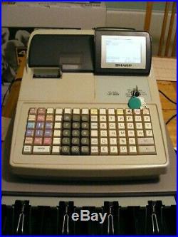 Cash register till sharp up 600 with scanner