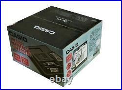Casio Cash Register SE-G1 Shop Café Pub Till Market Stall Black Unused VAT Inc