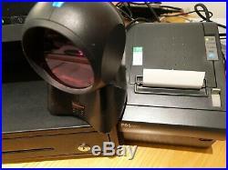 Casio QT6600 Touch Screen POS Till System Cash Register, Receipt Printer, Scanner