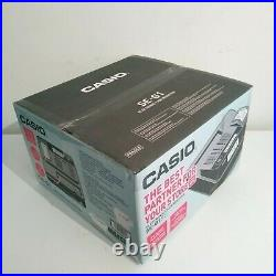 Casio SE G1 Electronic Cash Register Till with Fast Quiet Thermal Printer Black