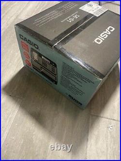 Casio SE-G1 SD Black Cash Register Shop Till NEW Sealed in Box Unused EPP