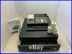 Casio SE-S10 Cash Register Till With 3 Keys and Receipt Printer Rolls for Shop