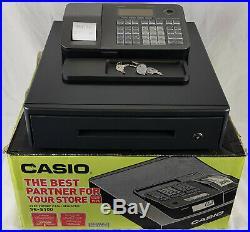 Casio SE-S100 Electronic Cash Register, Retail, Shop Till, Boxed + All Keys