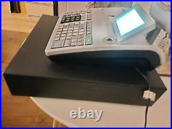 Casio SE-S3000 Cash Register / Till / EPOS with Large LCD Display Grey