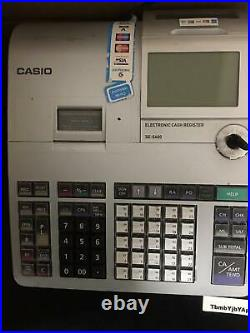 Casio SE-S400 Electronic Retail Cash Register Tills Till