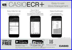Casio SR-S500 Cash Register Till Retail / Shop Bluetooth Programming & Reports