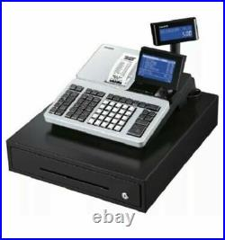 Casio SR-S500 Electronic Cash Register Till 4 FREE till rolls and batteries