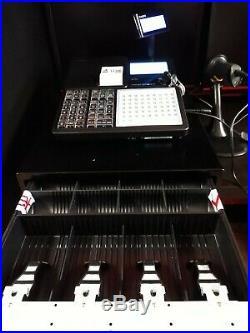 Casio SRC550 Black Cash Register Till Bluetooth with Scanner