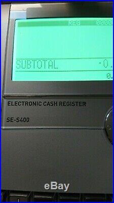 Casio Se S400 Till Cash Register