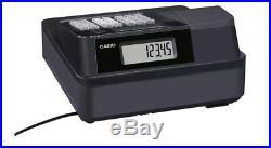 Casio Se-g1 Black Cash Register Till / 10 Free Rolls