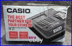 Casio Se-g1 Cash Register Hot Pink 4 Free Till Rolls Original Box Free Delivery
