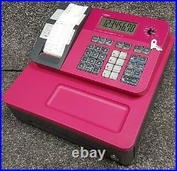 Casio Se-g1 Cash Register Till Hot Pink 2 Free Till Rolls Fast & Free Delivery