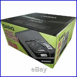 Casio Se-s100 Ses100 Cash Register Till (silver) + Box Of 20 Till Rolls (za4)