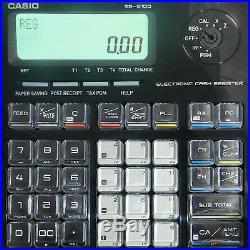 Casio Se-s100md Cash Register Till New Sealed Box