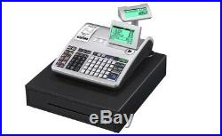 Casio Se-s3000-1 Electronic Cash Register With Till Rolls And Free P&p