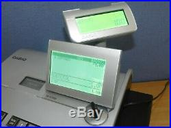 Casio Se-s3000 Cash Register / Till Full Working Order Keys Tray Manual Ses3000