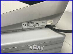 Casio TE-100 Cash Register Electronic Cash Till TE-100-1