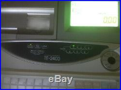 Casio TE-2400 Electronic Cash Register With Till Rolls And Free P&P