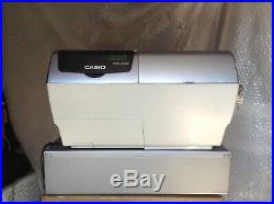 Casio TE-8000F Electronic Cash Register With Till Rolls And Free P&P