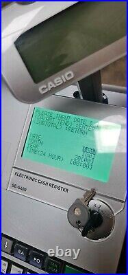 Casio se-s400 Cash Register Till