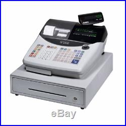Casio till TE-2200, elctronic cash register, cashier till and user manual