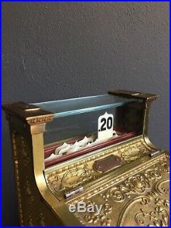 Clean Antique Shop National Cash Register Till
