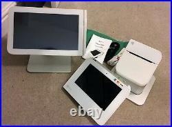 Clover POS System Large and Mini Bundle with Receipt Printer Till Cash Register