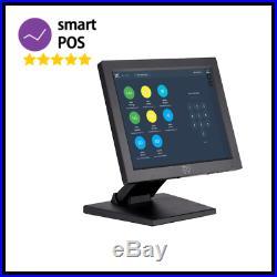 Complete 12 inch Retail EPOS System Cash Register Till Convenience Store Shop